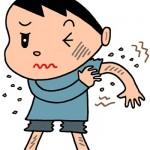 【肌トラブル】子供の冬の乾燥肌、原因は?おすすめの入浴法!