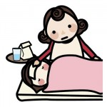 子どもが夜中になると咳込む、吐いてしまう原因と対処法